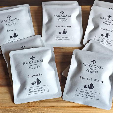 NAKAZAKI COFFEE ROASTER :ドリップバッグ10枚セット(5種類が各2枚)