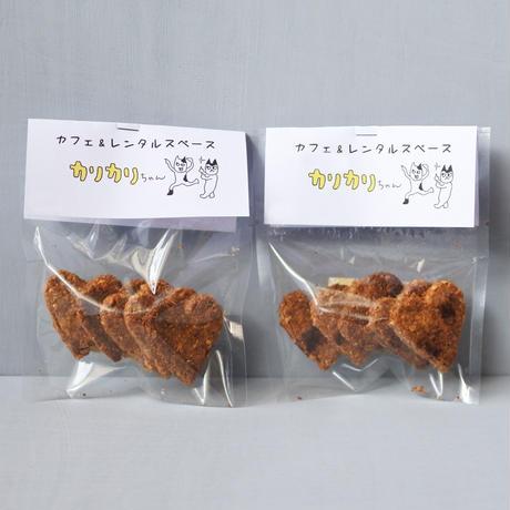 カフェ&レンタルスペース カリカリちゃん: おからクッキー