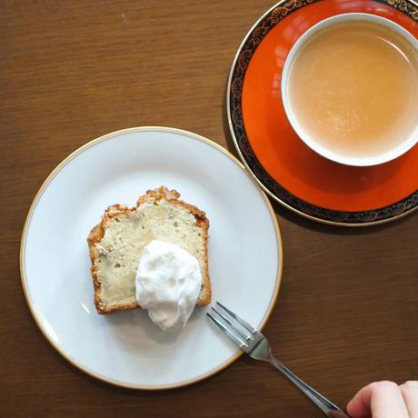 喫茶フリーダ: たっぷりバナナとくるみのパウンドケーキ1本(16×7センチ)