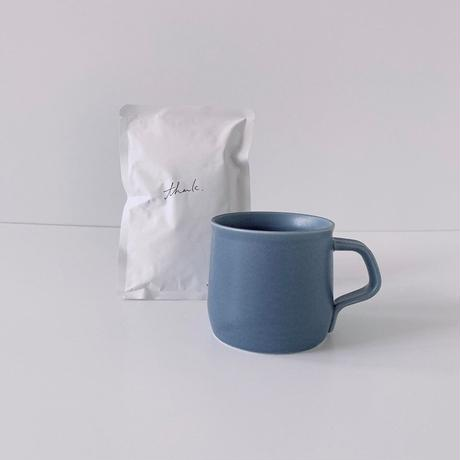 """bocagrande  :  father's day gift """" blue mug and coffee"""""""