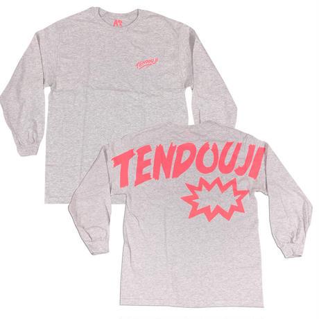 TENDOUJI flashy ロンT / アッシュ