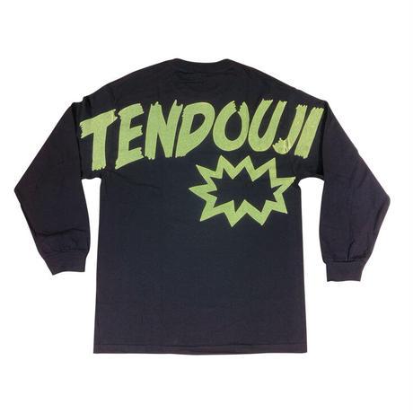 TENDOUJI flashy ロンT / ブラック