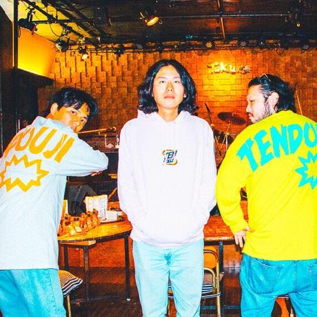 TENDOUJI NEW LOGO 刺繍Hoodie / ライトピンク