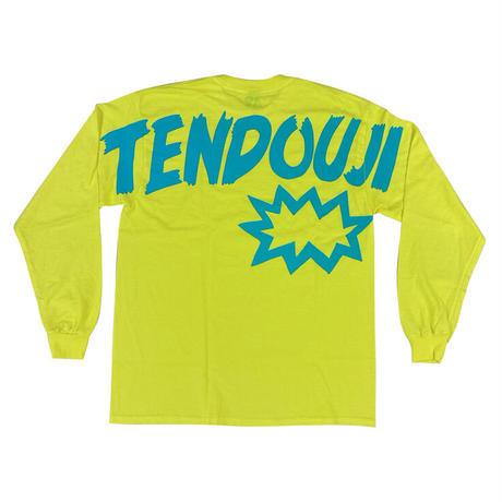 TENDOUJI flashy ロンT / セーフティーグリーン