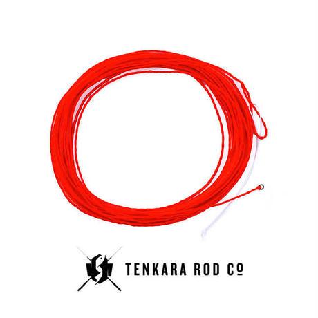 【LINE ORANGE RED】(10.5-13フィート) / (TENKARA008)
