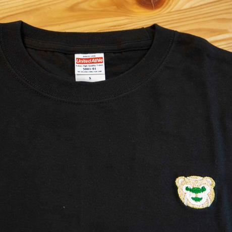 テニスベアオリジナル Tシャツ(ブラック)