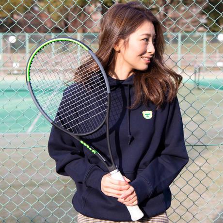 テニスベアオリジナル パーカー(ネイビー)