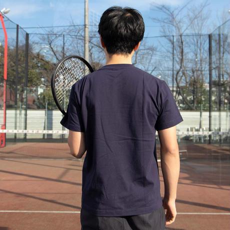 テニスベアオリジナル Tシャツ(ネイビー)