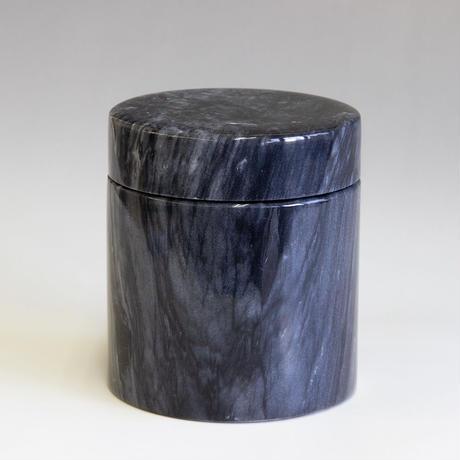 大理石骨壷 黒大理石