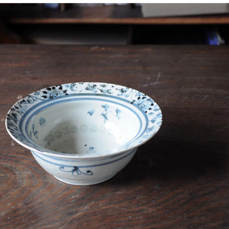 74 染付印花花文鉢