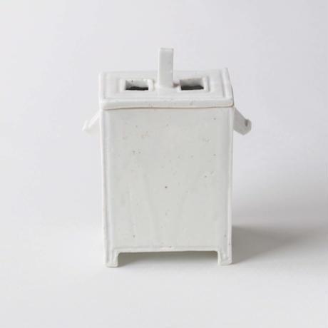 63 白瓷香炉