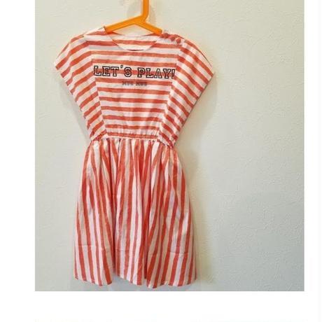 muu muu[ムームー]/STRIPE  SUMMER  DRESS