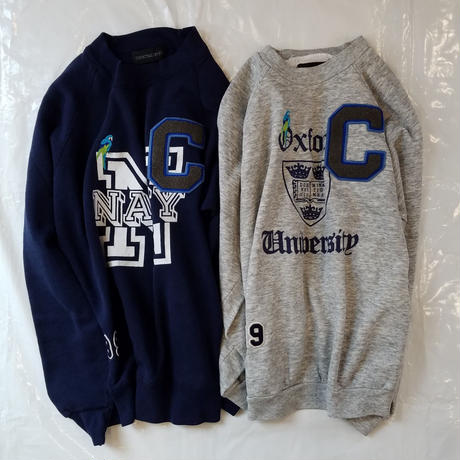 COOCHUCAMP[クーチューキャンプ]/Happy Special Sweat(College)