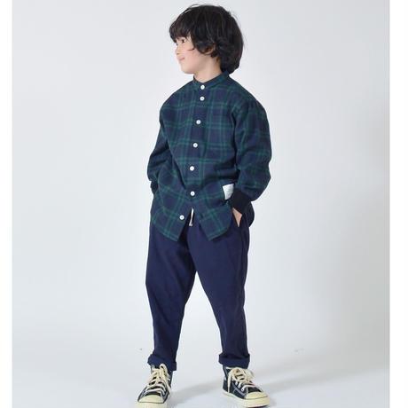 GENERATOR[ジェネレーター] / バンドカラーチェックシャツ