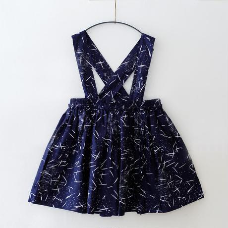 michirico[ミチリコ]/Hanabi textile suspender skirt