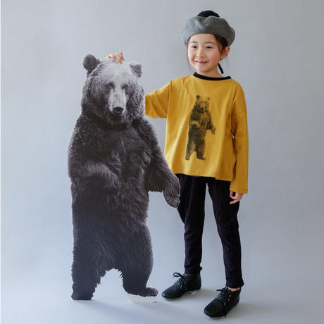 michirico[ミチリコ] / Bear longsleeve T