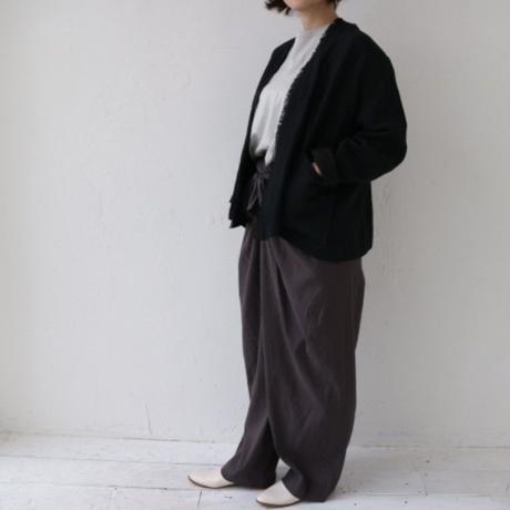 doux bleu[ドゥーブルー] / リネンフリンジジャケット