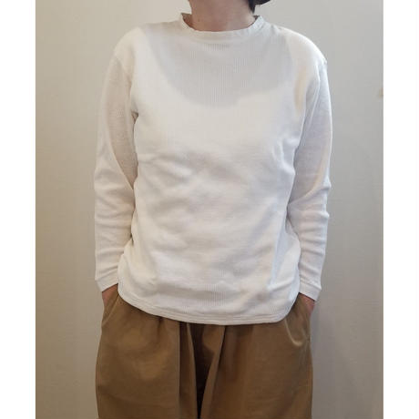 着もちいい服 / F / W FACE  THERMAL  L/S  T-SHIRT