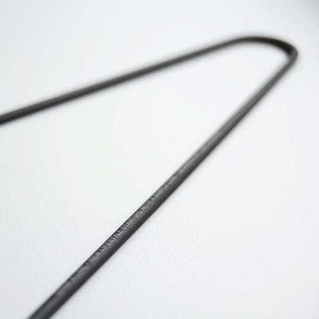 マットな鉄ハンガー(3本入り)
