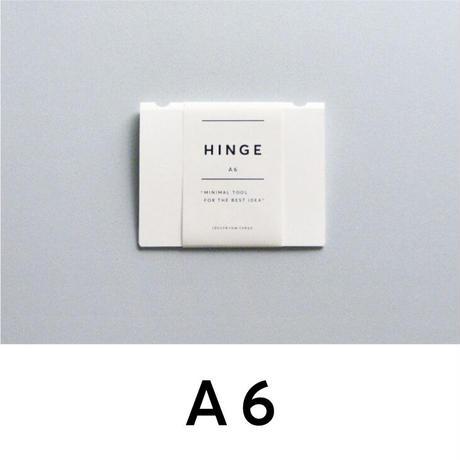 HINGE A6 white(idontknowストアで購入できます)