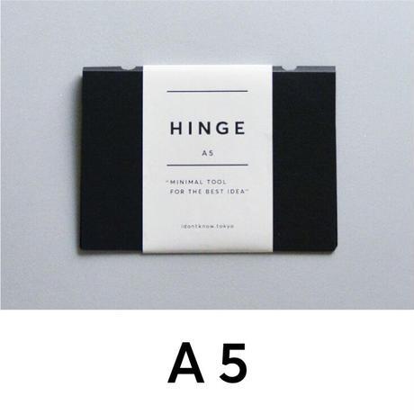 HINGE A5 black(idontknowストアで購入できます)