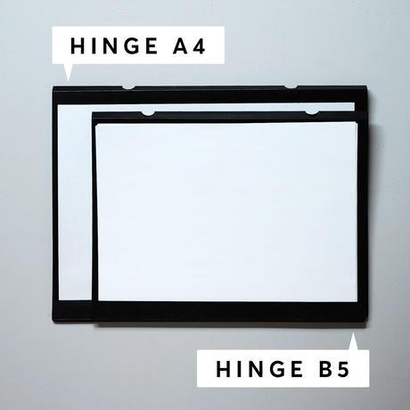 HINGE B5 black(idontknowストアで購入できます)