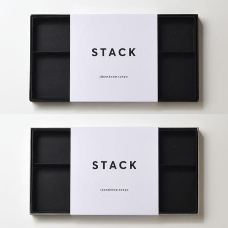 STACK black & grey