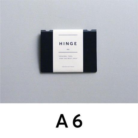 HINGE A6 black(idontknowストアで購入できます)