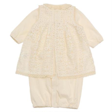 SENSE OF WONDER センスオブワンダー オーガニックコットン BASICエプロン付き兼用ドレス [50-70cm] 日本製