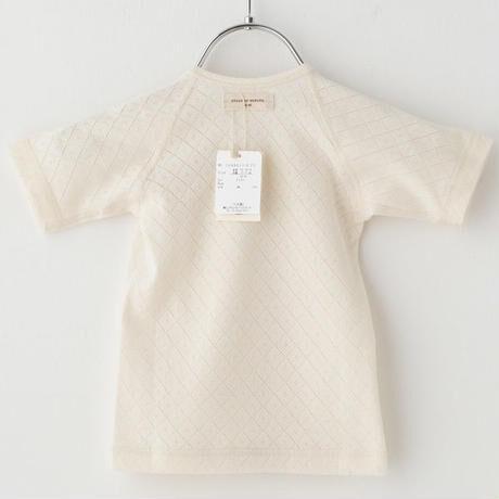 SENSE OF WONDER センスオブワンダー オーガニックコットン 日本製 野イチゴ 刺繍コンビ肌着