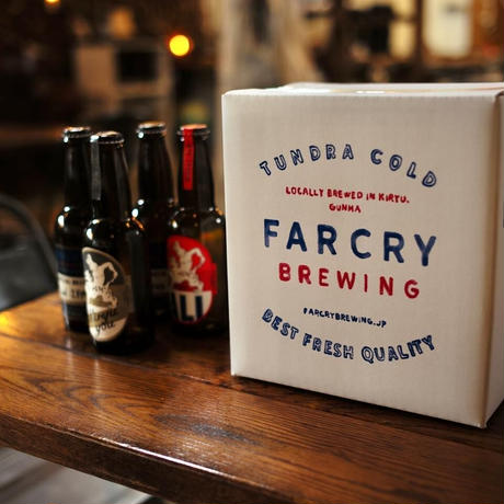 FARCRY BREWING, おまかせ3種類6本セット(KIRYU YOU / ALI WEISS / FARCRY SOUR ALE)