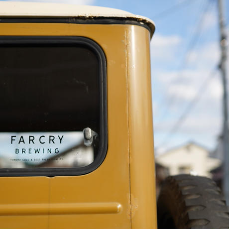 FARCRY BREWING, カッティングシート