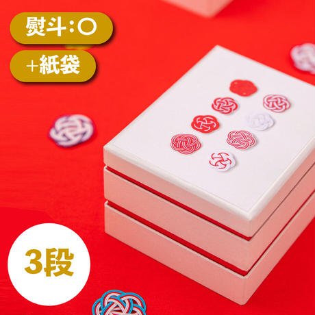 きんつばビスキィ+紙袋【3段】