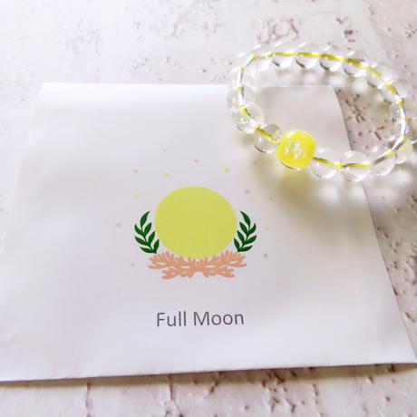 御予約専用(白さま)新月&満月ブレスレット