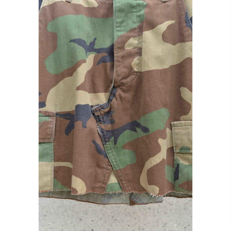 U.S.Army Remake Camouflage Skirt