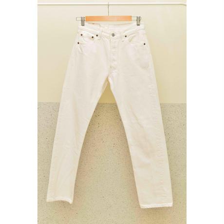 """Levi's 90'S """"Lot.501"""" ホワイトジーンズ"""