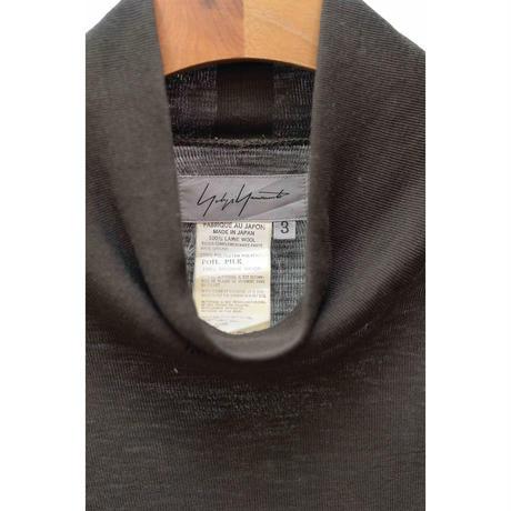 90s Yohji Yamamoto Knit×Velours Top