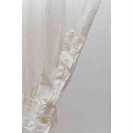 40-50's Tailorized Cotton poplin shirt