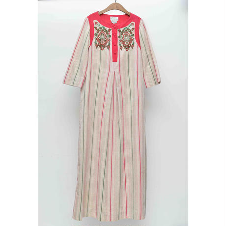 60'S Indian Cotton Onepiece