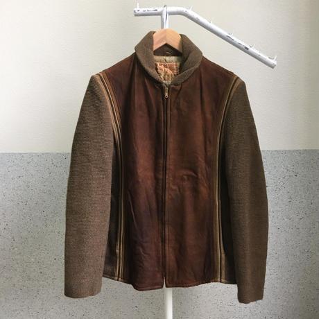 McGREGOR 50S ヌバック×ニット切り替えジャケット