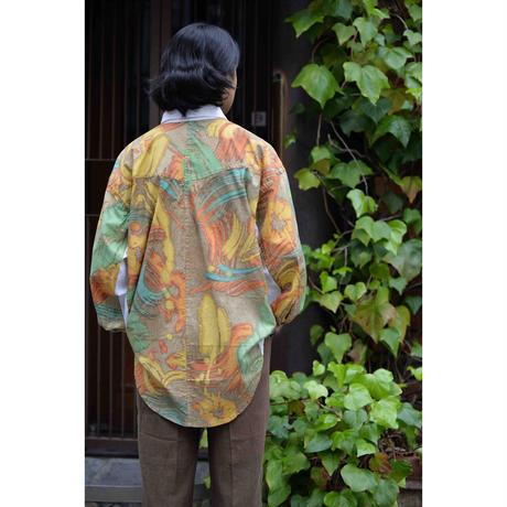 MAGICMUSHROOM BALI  切り替えデザインワイドシャツ