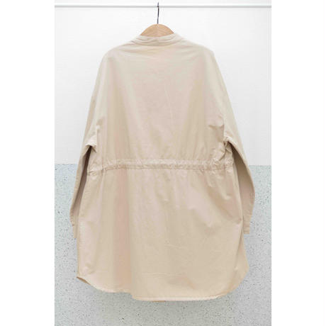USED スタンドカラードローコードシャツジャケット