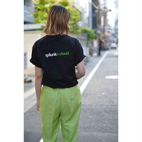 "USED 00S ""SaaS"" プリントTシャツ"