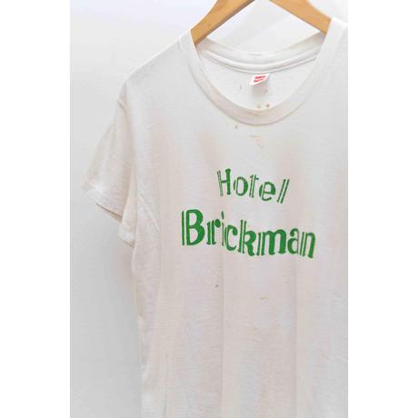 "70'S HANES ""Hotel Brickman"" t-shirt"