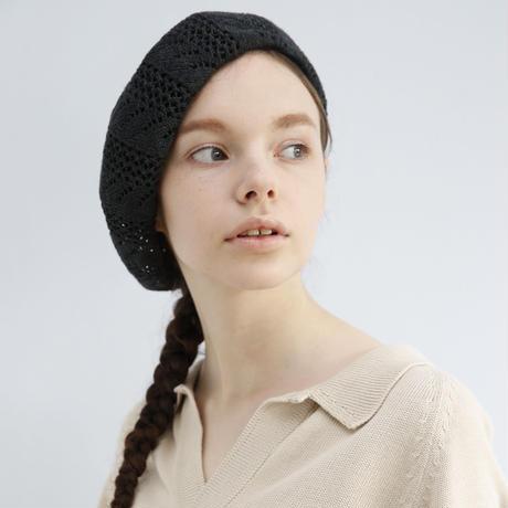 【LACE】linen knit