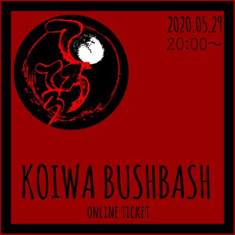 2020.05.29 小岩BUSHBASH 動画