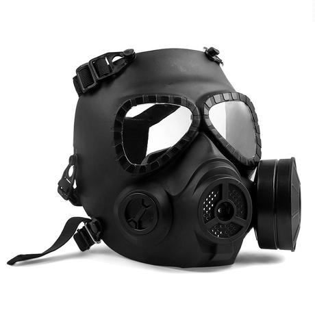 エアガン サバゲー 戦術  防毒マスク風 フルフェイスマスク 特殊部隊風 サバイバルゲーム 防弾 安全 ゴーグル コスプレ