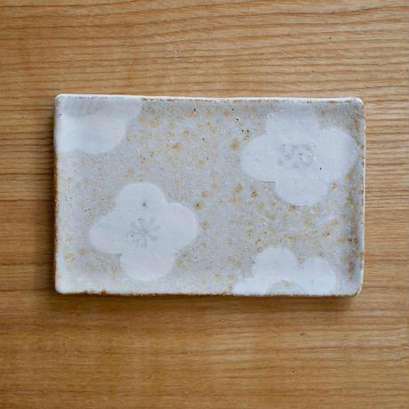 Medium size plate(Flower)