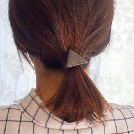 Hair accessory ポニーフック (Triangle)