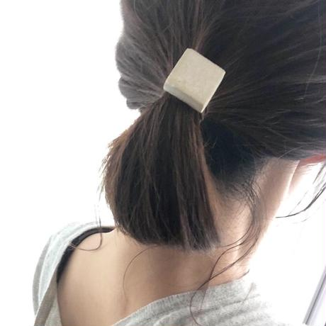 Hair accessory ポニーフック (Square)